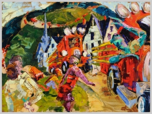 Parade, Catskill Mountain Life series, 5, 48x36 in.