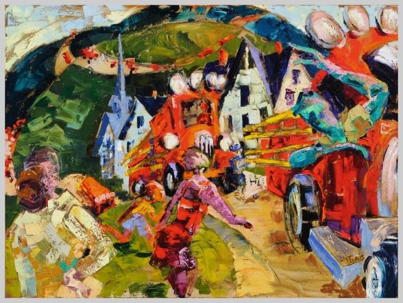 Parade, Catskill Mountain Life series, 5, 48x36 in.