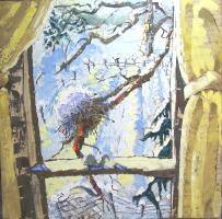 Winter Window, Catskill Mountain Life, Flora and Fauna