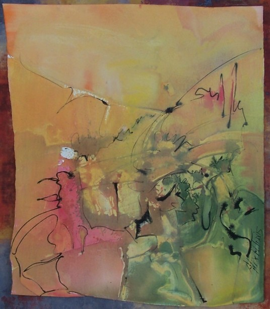 Abstraction, New Orleans, private collection
