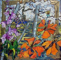My Spring Garden, Catskill Mountain Flora and Fauna, 3, private collection