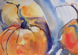 Pumpkins, 1, 10x14 in.
